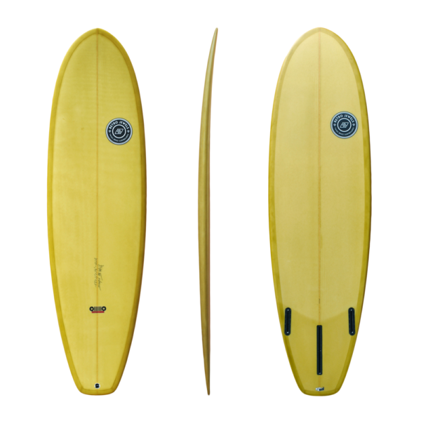 Retro - The HUM model - TwinsBros Surfboards