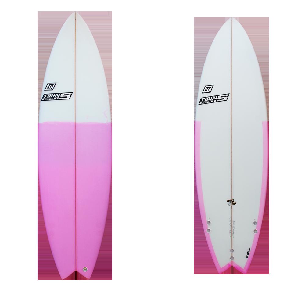 Cuttle fish funny wave surfboard - Tablas de surf decorativas ...