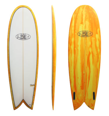 Retro Jewels Twin 1970 TwinsBros Surfboards