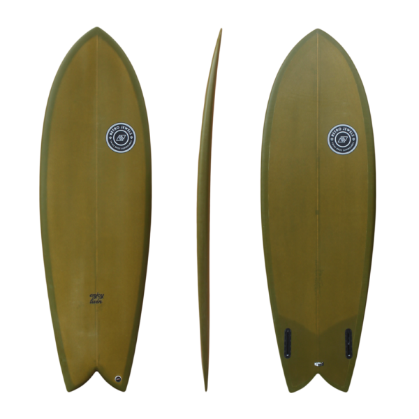 Retro - Enjoy Twin camo - TwinsBros surfboards